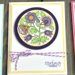 Easter Wishes - adult colouring Easter cards