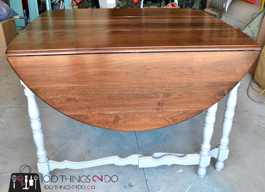 Drop Leaf Gate Leg Table Makeover 100 Things 2 Do