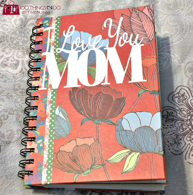 Mother's Day Gift Ideas - Mother's Day Journal from the kids