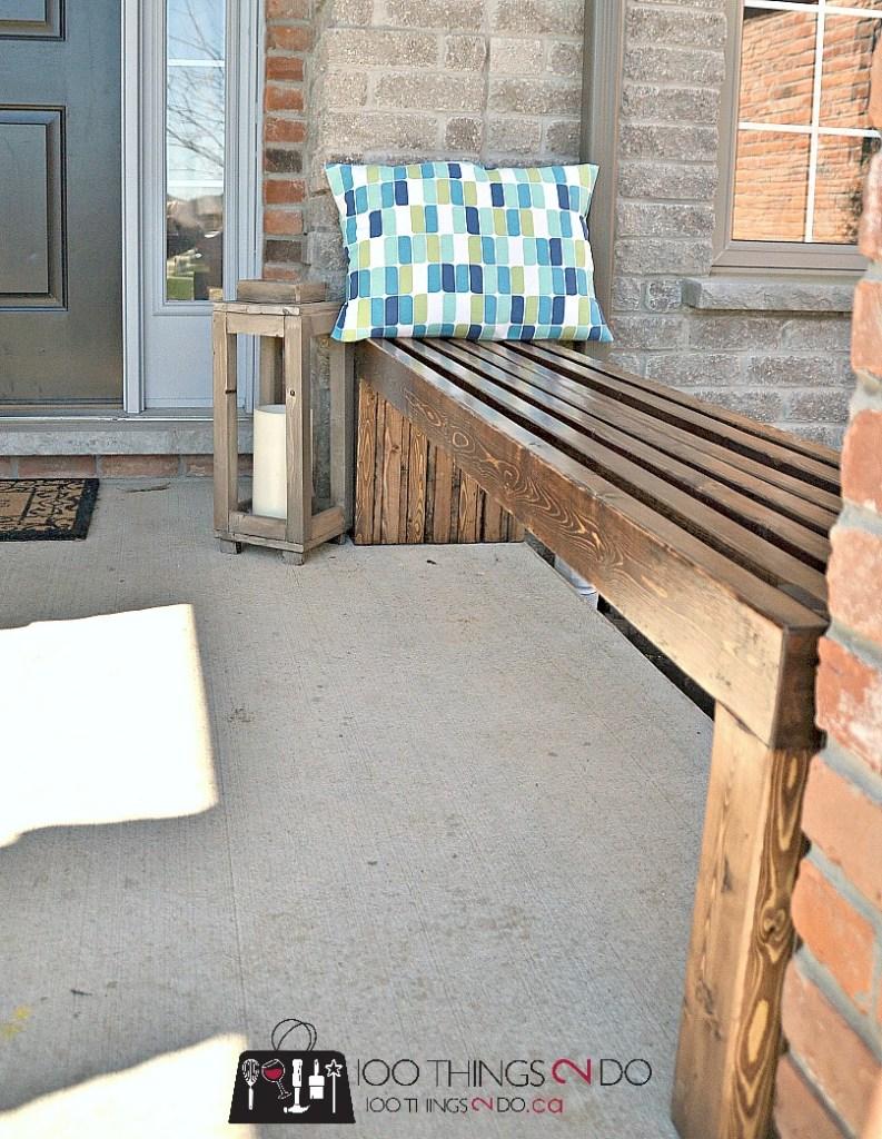 DIY Bench Plans / DIY Garden Bench
