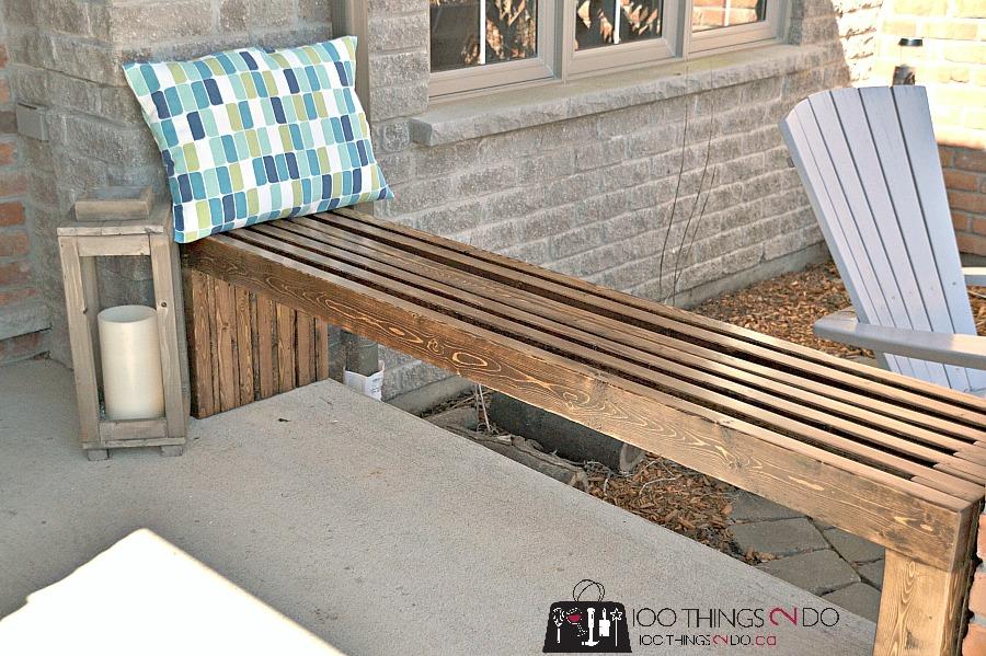 Diy Bench Plans Diy Garden Bench