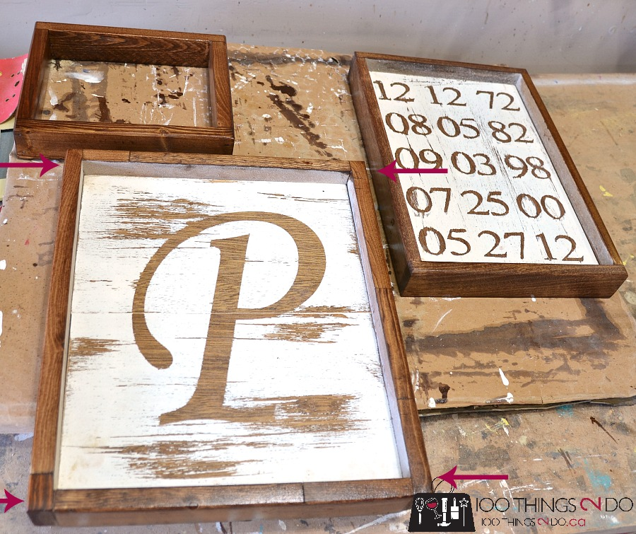 How to make rustic frames 2