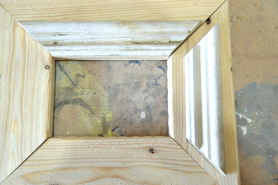 How to make rustic frames 5