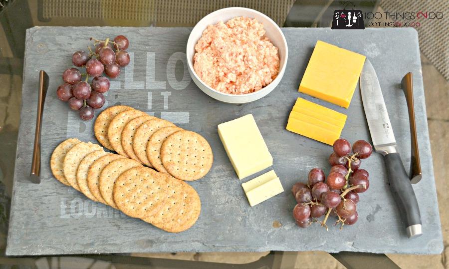 DIY Slate Cheese Board