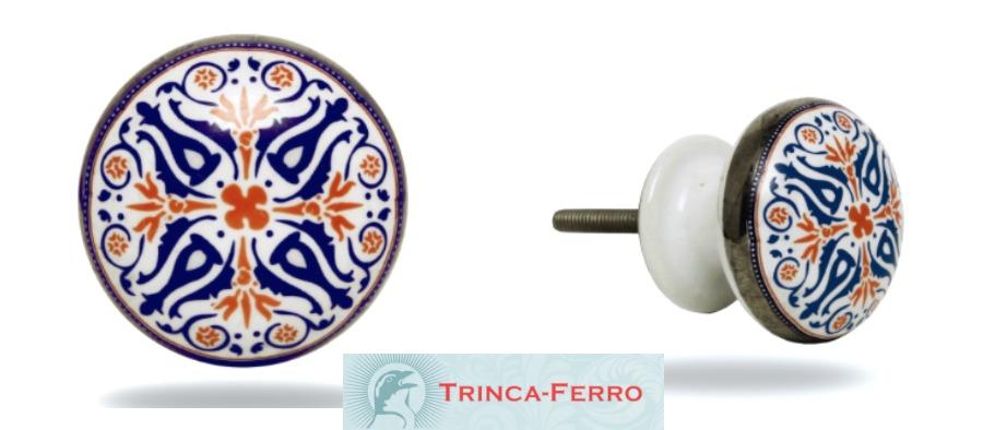 Trinca-Ferro Tangier Ceramic Knob