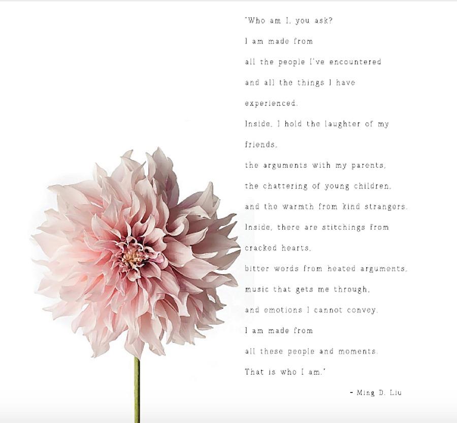 Who Am I? Ming Liu - printable pdf