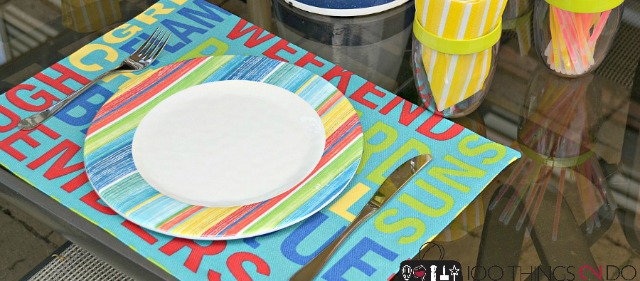 DIY No-Sew Placemats | 100 Things 2 Do