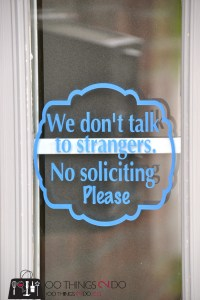 no soliciting sign  - 5