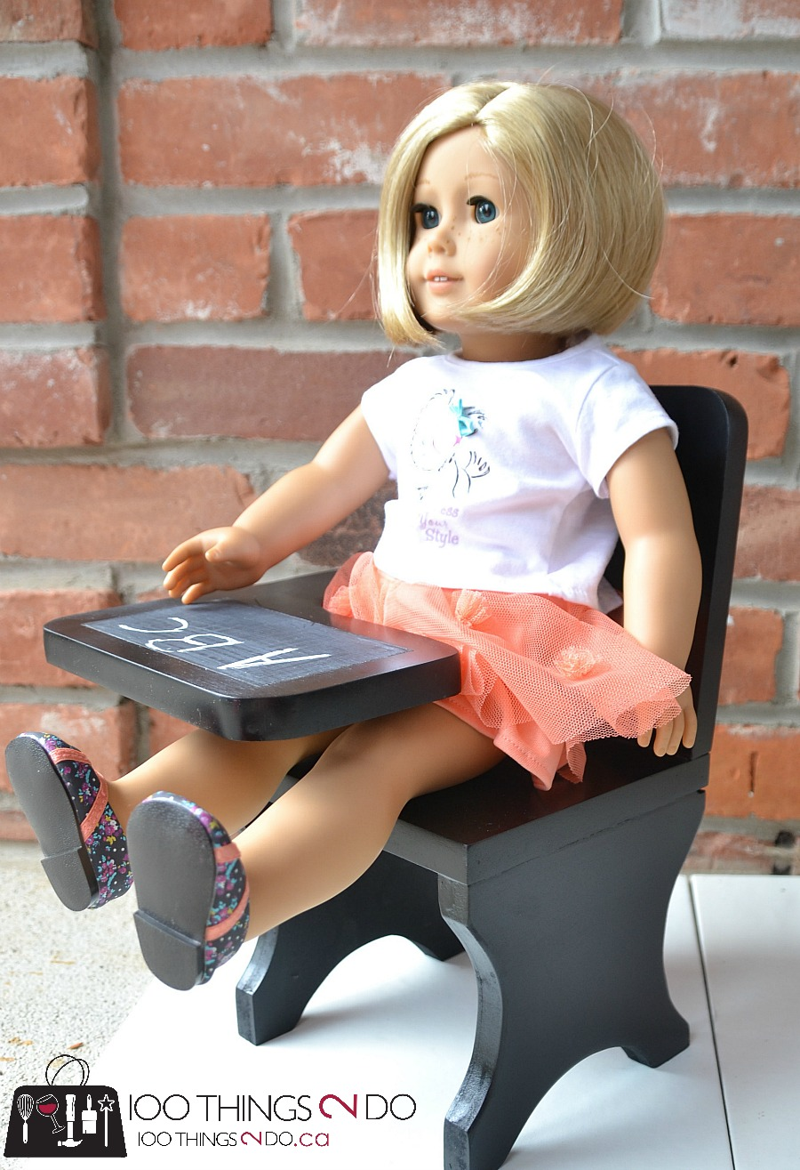 "DIY doll desk, American Girl desk, 18"" doll desk, DIY doll furniture"