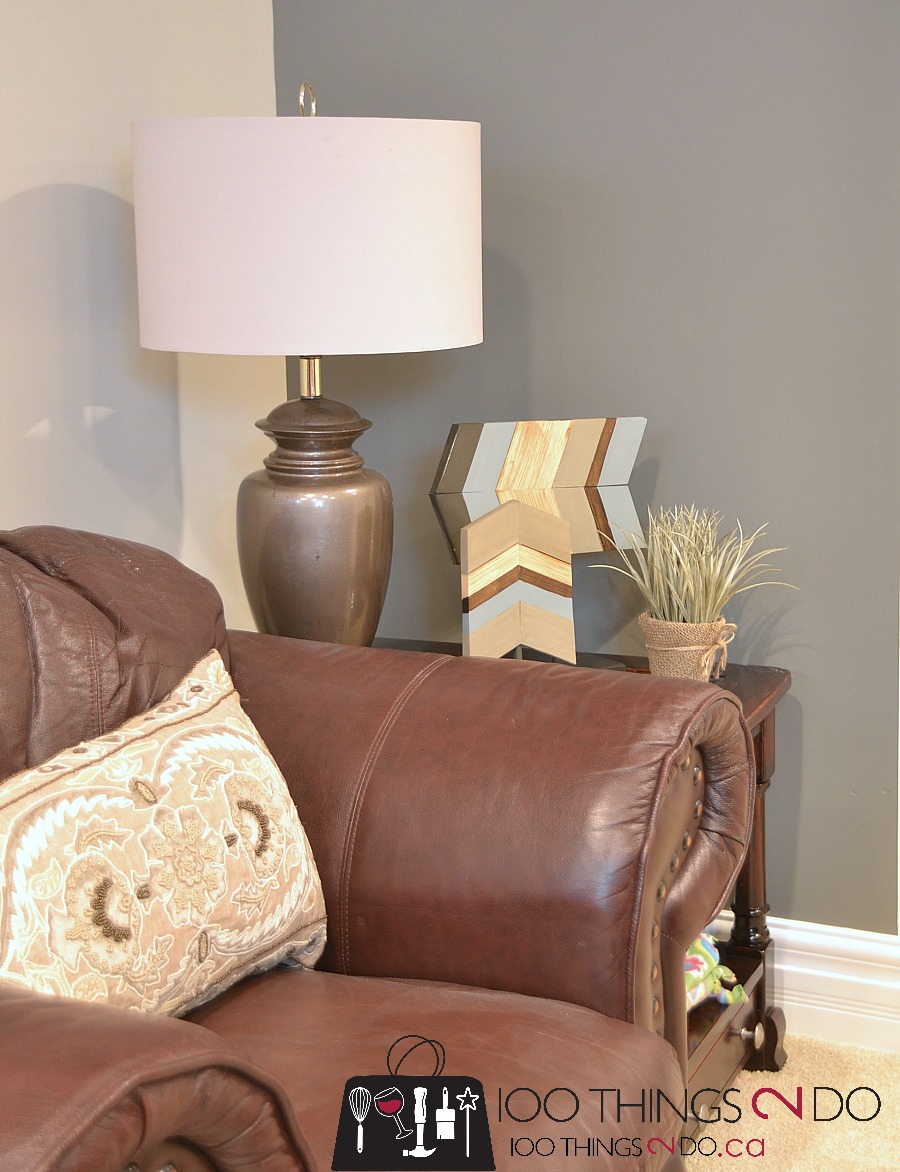 Chevron home decor, wood chevron, decorating with chevron, scrap wood chevron, wood arrow,