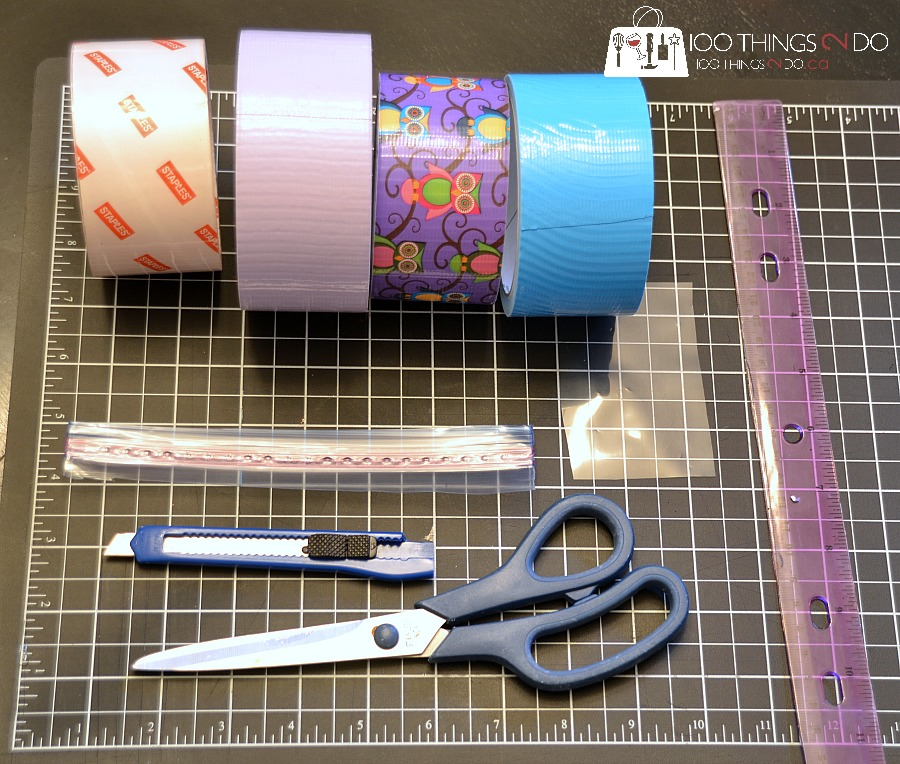 photo about Duct Tape Wallet Instructions Printable known as How toward Create a Duct Tape Wallet 100 Components 2 Do