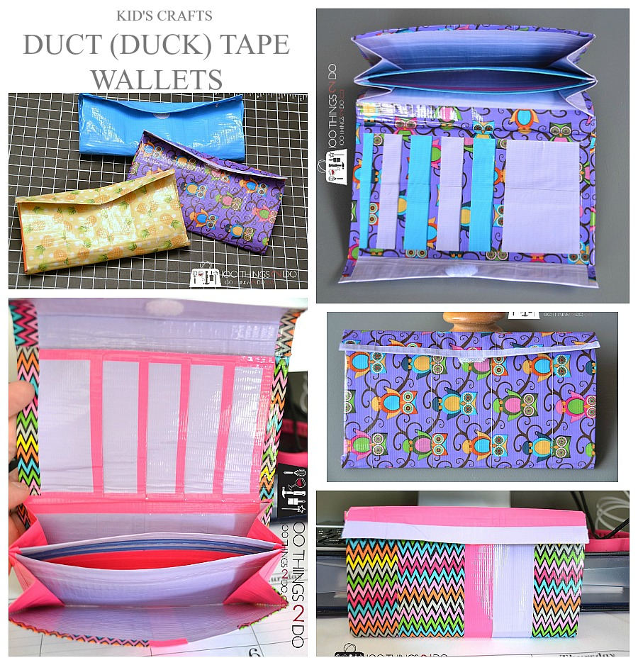 graphic regarding Duct Tape Wallet Instructions Printable known as How toward Produce a Duct Tape Wallet 100 Aspects 2 Do