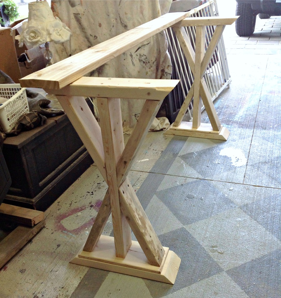 Folding Foyer Bench : Diy entryway table sofa things do
