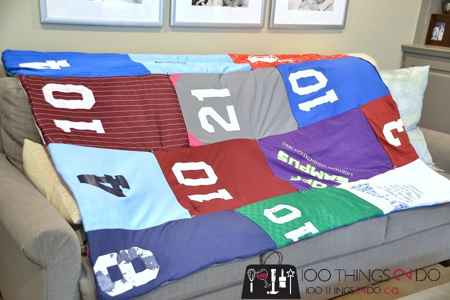The Cheater T-shirt Quilt - 100 Things 2 Do : jersey quilt - Adamdwight.com