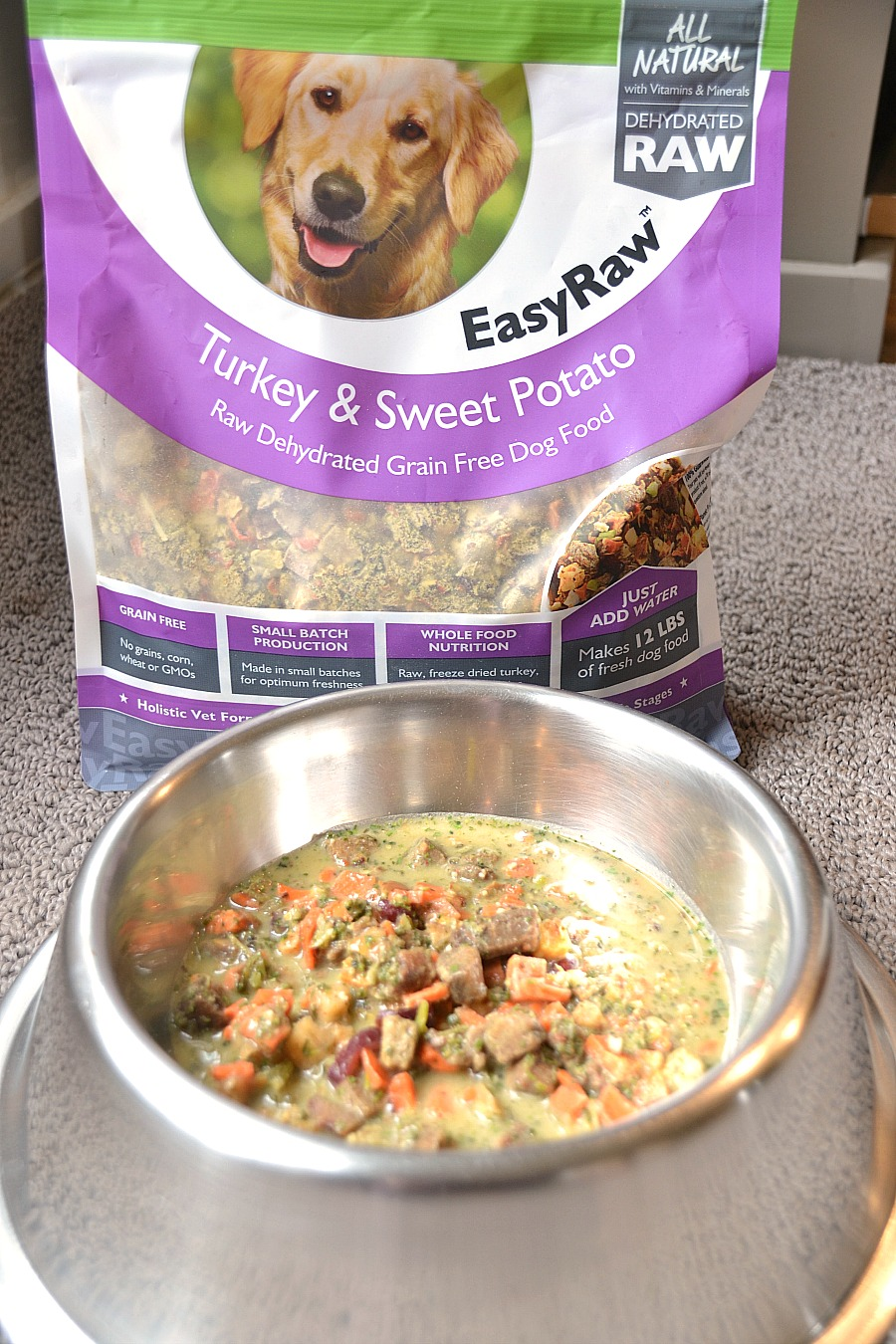 All natural pet food, holistic pet food, healthy pet food, all-natural pet food, Only Natural Pet - Easy Raw, sponsored