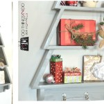 DIY Christmas tree shelf, tree shelf, scrap wood Christmas decor, free building plans, wood tree