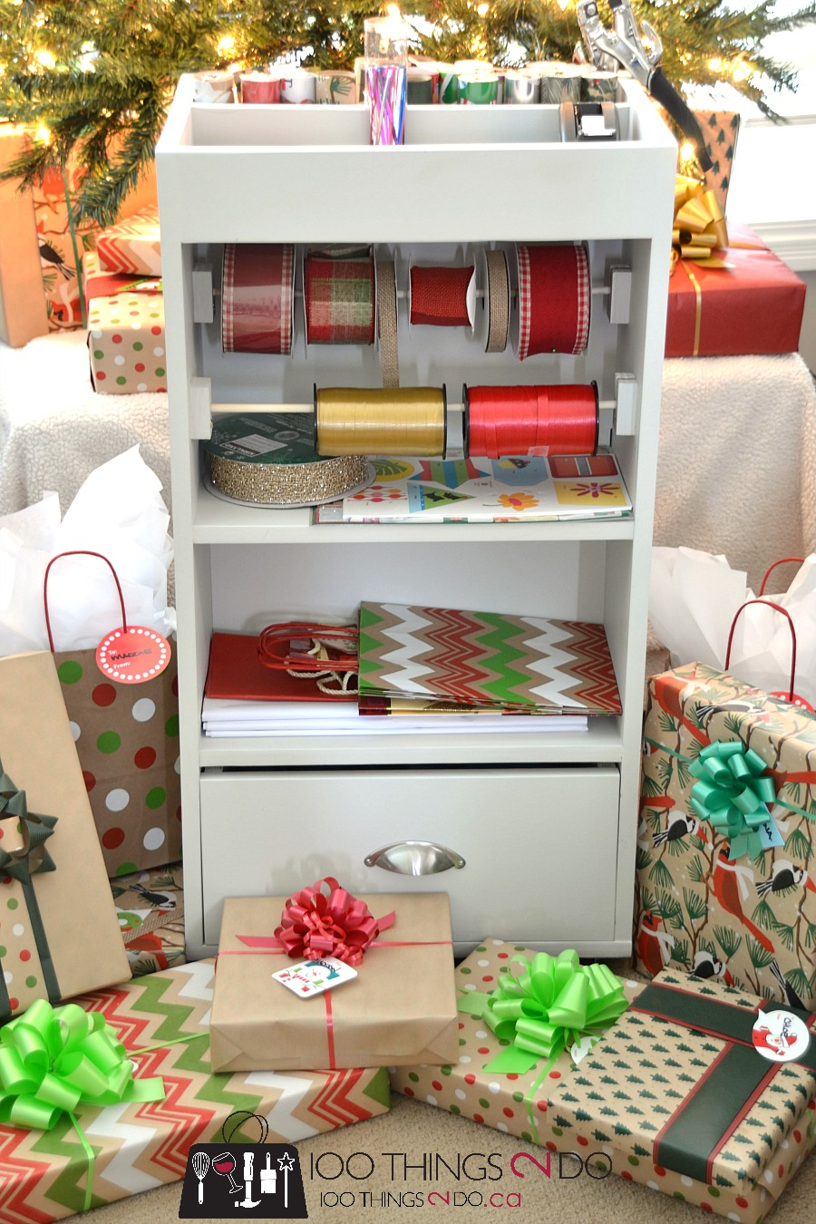 perfectly coordinated gift wrap 100 things 2 do