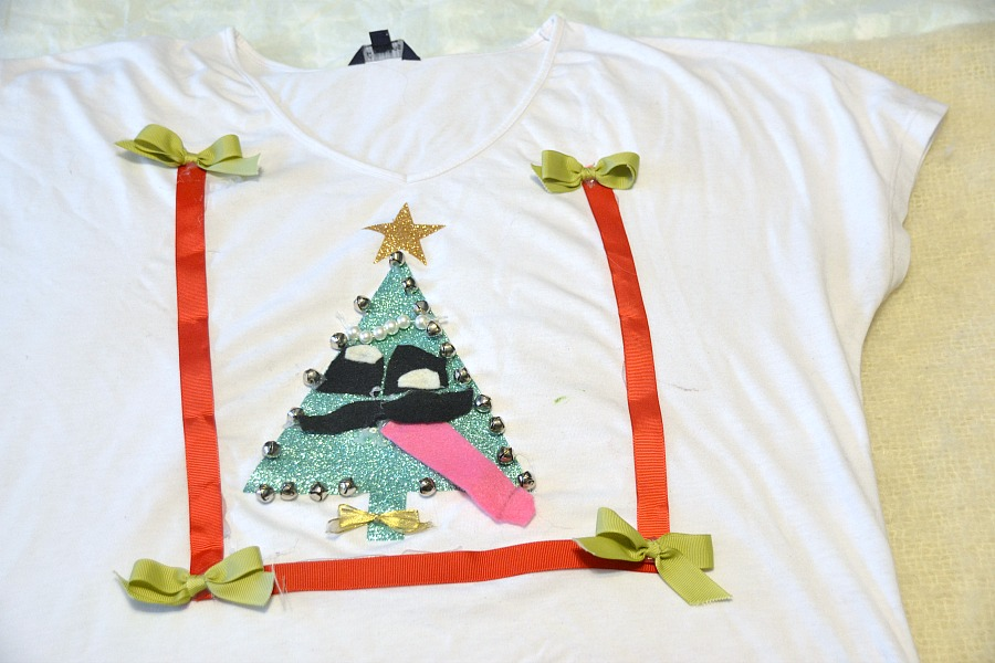 Ugly Christmas sweaters, DIY ugly Christmas sweaters, ugly shirts, Christmas shirts, Christmas sweaters, family fun