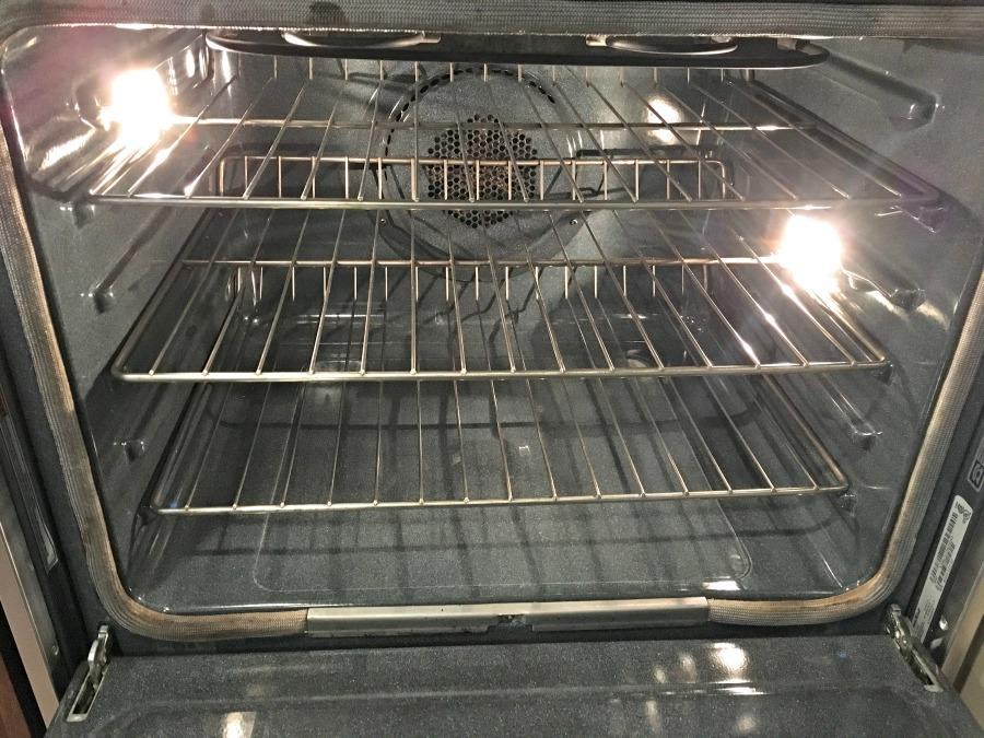 Samsung oven self clean
