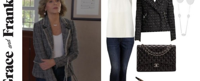 Grace & Frankie, Jane Fonda's wardrobe, shop Grace & Frankie, shop the show, Grace & Frankie style