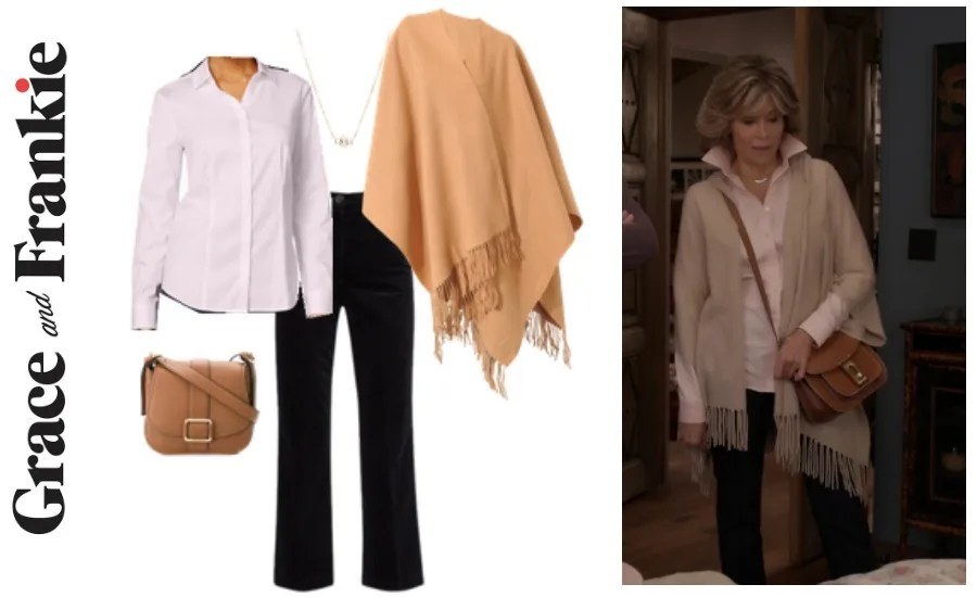 Grace and Frankie wardrobe, Grace & Frankie, Jane Fonda's wardrobe, shop Grace & Frankie, shop the show, Grace & Frankie style