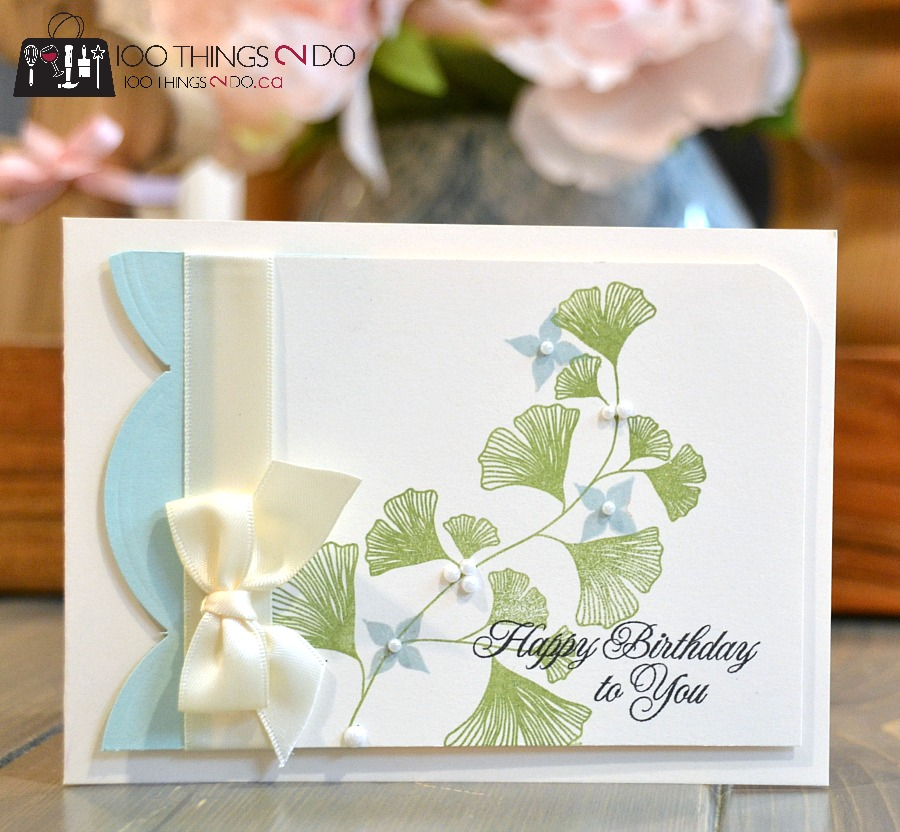 CAS card, clean and simple cards, Harvest Berries, Papertrey Ink, birthday card