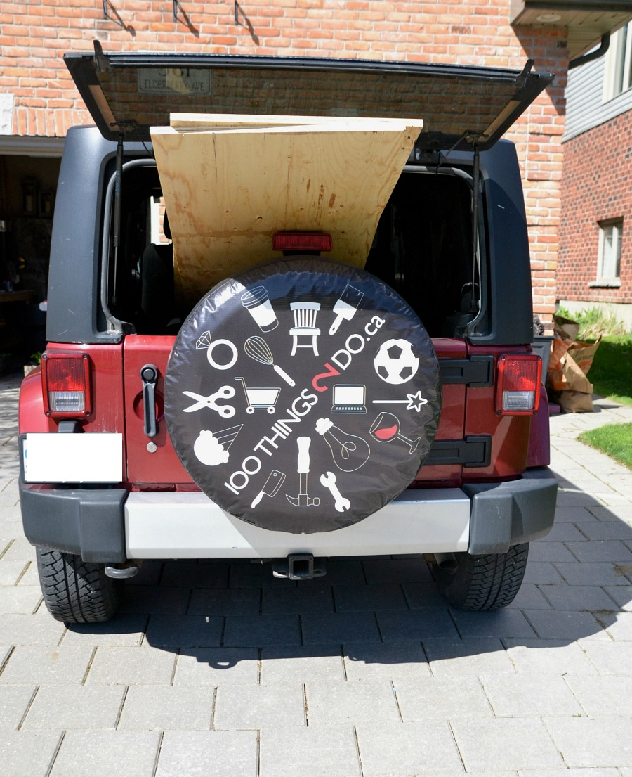 Car tire advertising, jeep tire cover, tire cover, tire cover images, 100Things2Do