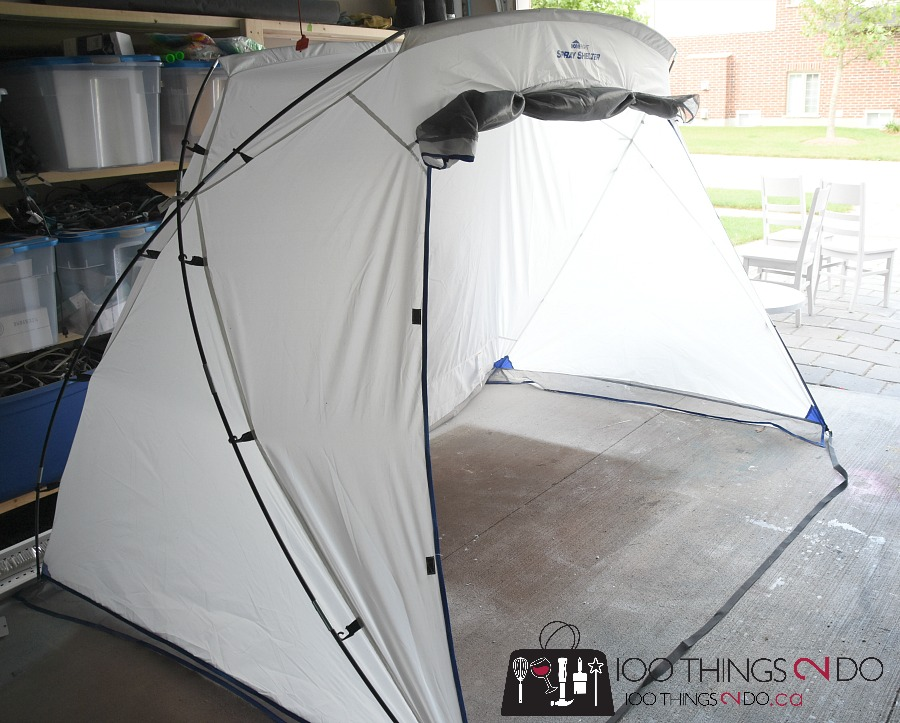 HomeRight Spray Paint Tent & Make Your Planters New Again - 100 Things 2 Do