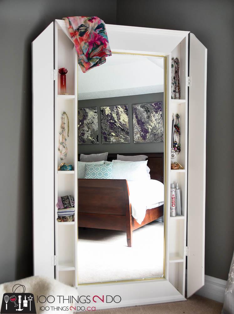 DIY Floor Mirror | 100 Things 2 Do