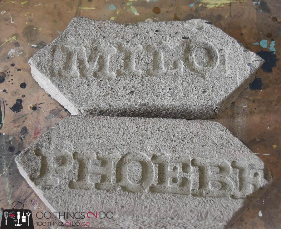 Pet grave marker, Pet gravestone, pet memorial, pet tombstone, cement gravestone, concrete tombstone