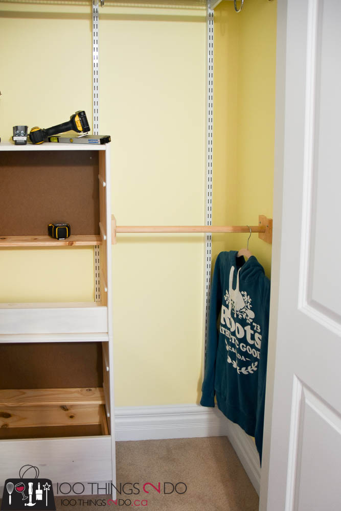 Forty Two Inches Is The Average Height Of A Lower Closet Rod And Leaves You  Plenty Of Room To Tuck Shoes Underneath. If Your Clothing (and Kids) Are  Small, ...