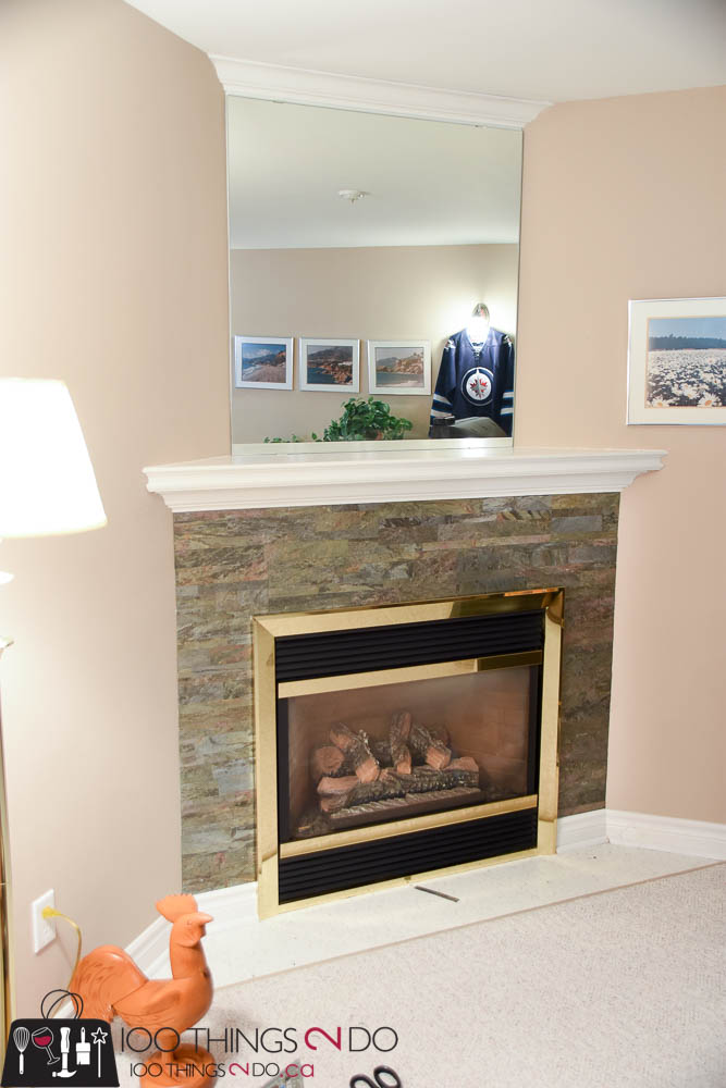 Stone fireplace surround - 100 Things 2 Do