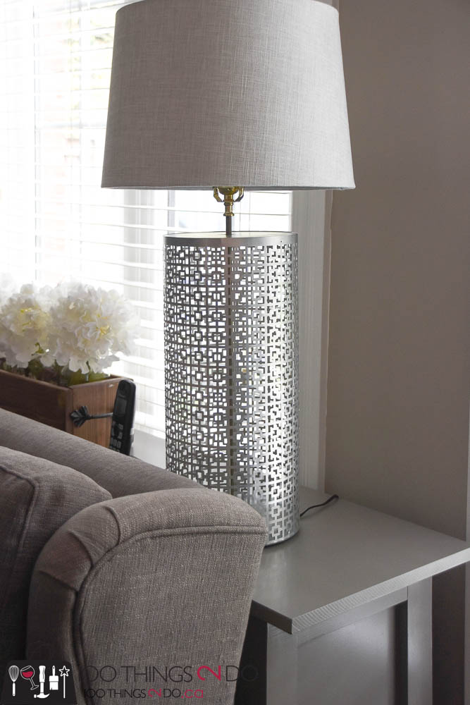 How to make a lamp, make your own lamp, decorative metal lamp, pewter