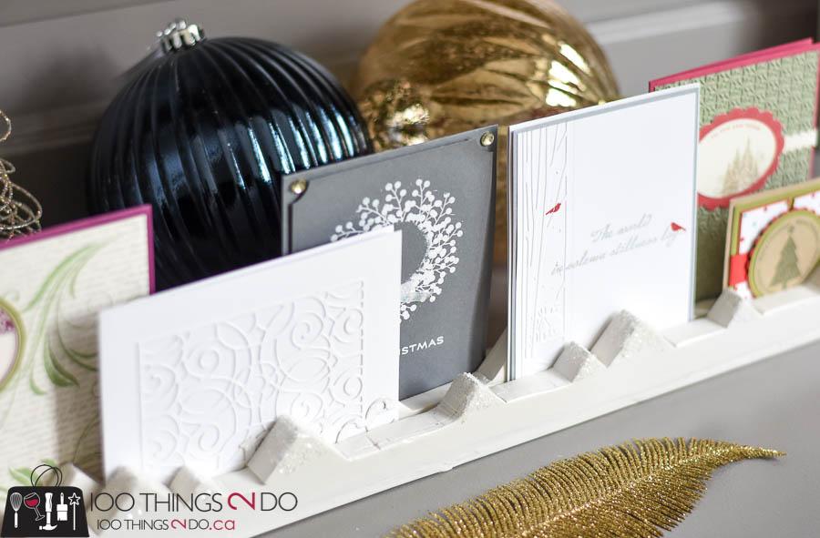 Half-Hour Holiday Challenge - Christmas Card Display | 100 Things 2 Do