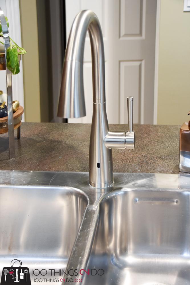 Kitchen Faucet, Choosing A Faucet, Pfister Faucets, Pfister Raya, Hands Free