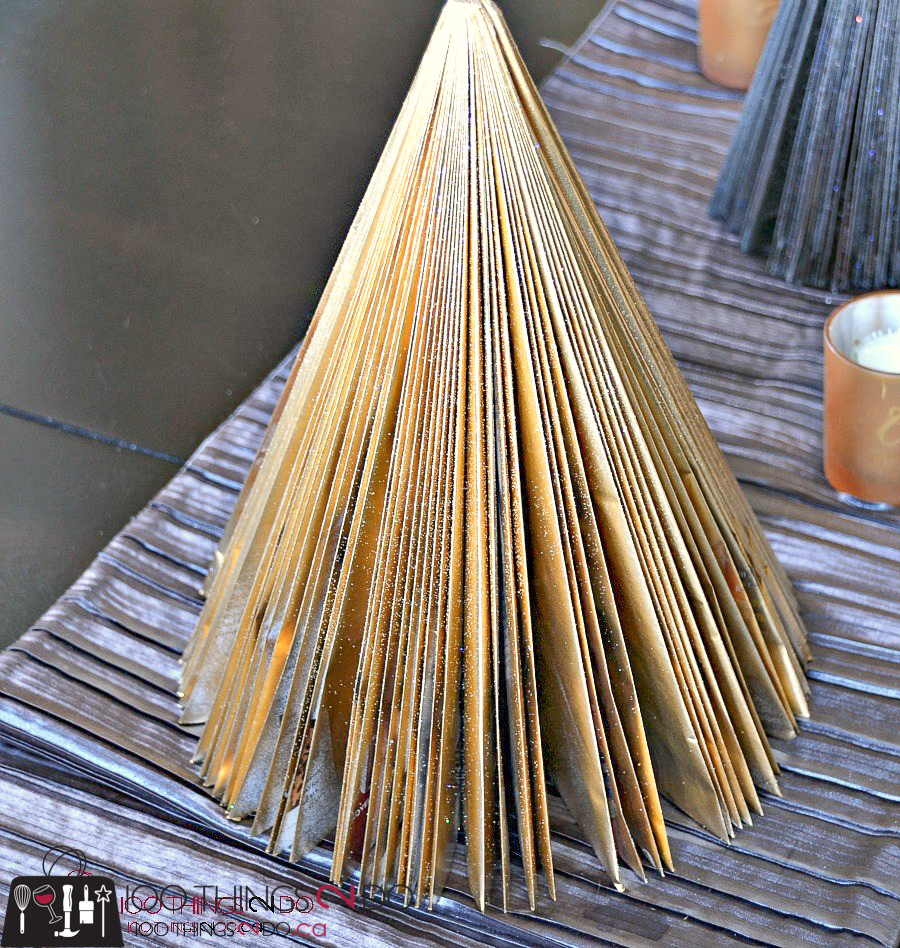 20 Simple Christmas DIYs, paper trees, magazine trees, Christmas DIY, Easy Christmas crafts, DIY Christmas decor