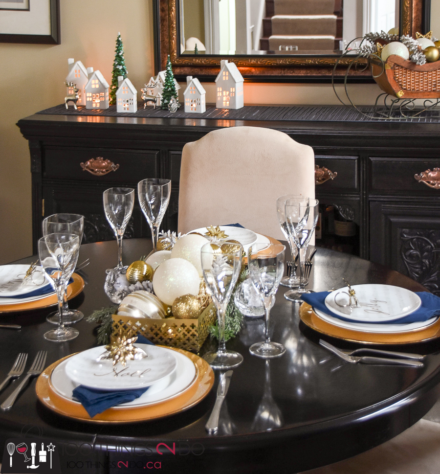 Christmas Tablescape 100 Things 2 Do