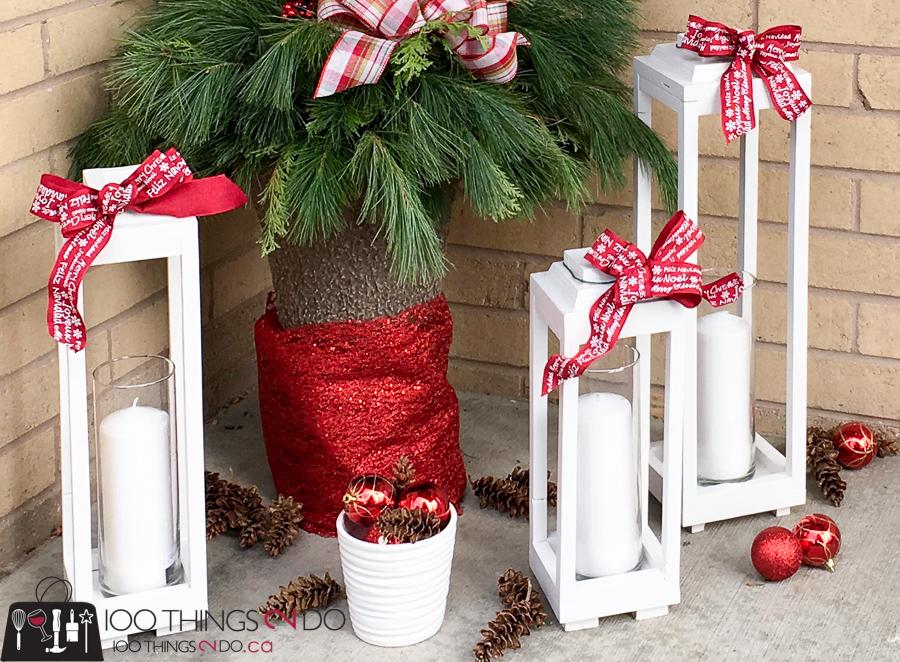 make your own scrap wood lanterns diy rustic lanterns white lanterns christmas lanterns