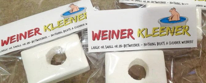 Weiner cleaner, Weiner kleener, Gag Gift ideas, white elephant gift, gag Christmas gifts, funny gift ideas