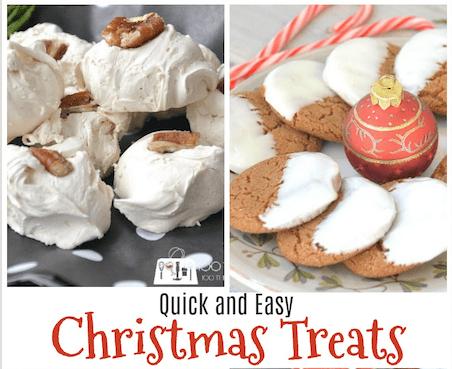Quick and easy Christmas treats, Christmas baking, Holiday baking