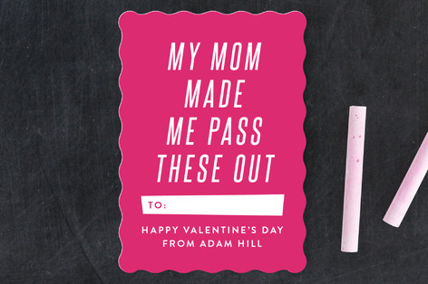 Classroom Valentines, Valentine's Day cards, Valentine's for kids, Minted Valentine's