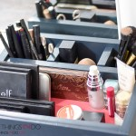 DIY makeup caddy, DIY makeup organizer, makeup organization, makeup storage