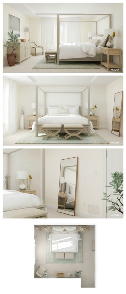 Grey master bedroom, Gray master bedroom, master bedroom, neutral master bedroom, decorating a master bedroom, designer master bedroom