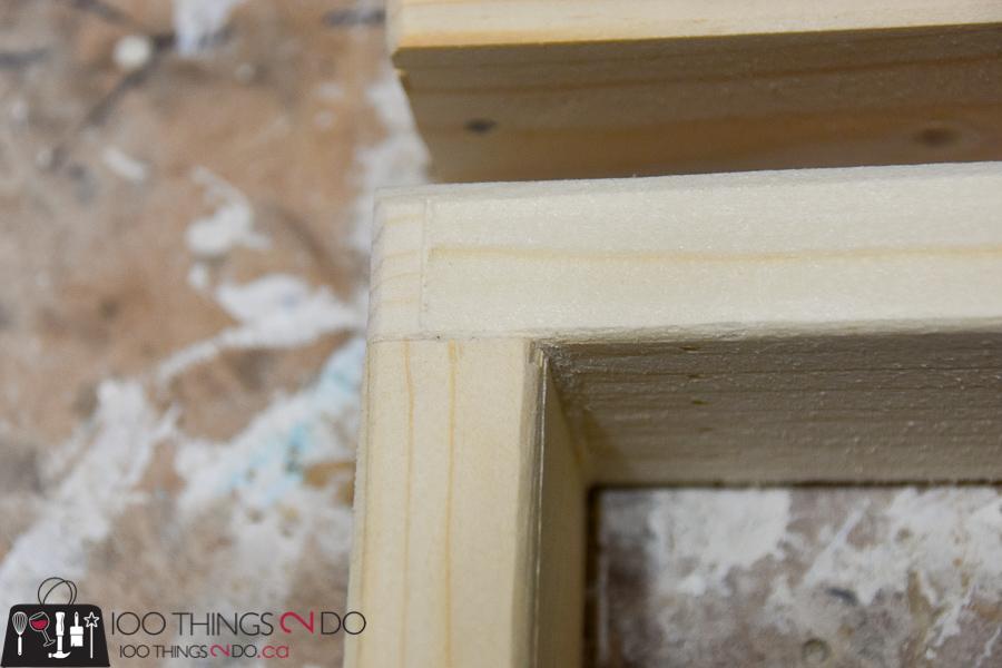 Simple, rustic wood frames | 100 Things 2 Do
