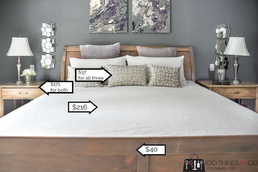 Master Bedroom Makeover - Theirs $6,773 vs. mine $1,144 | 100 Things ...