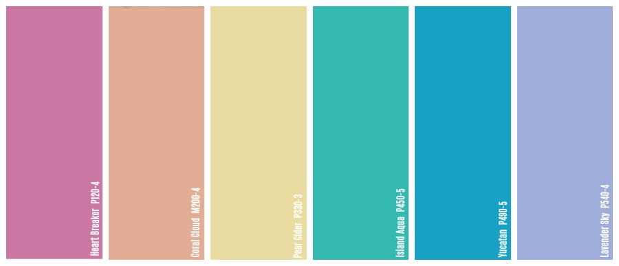 Spring colour palette, Spring color palette, Summer color palette, Summer colour palette