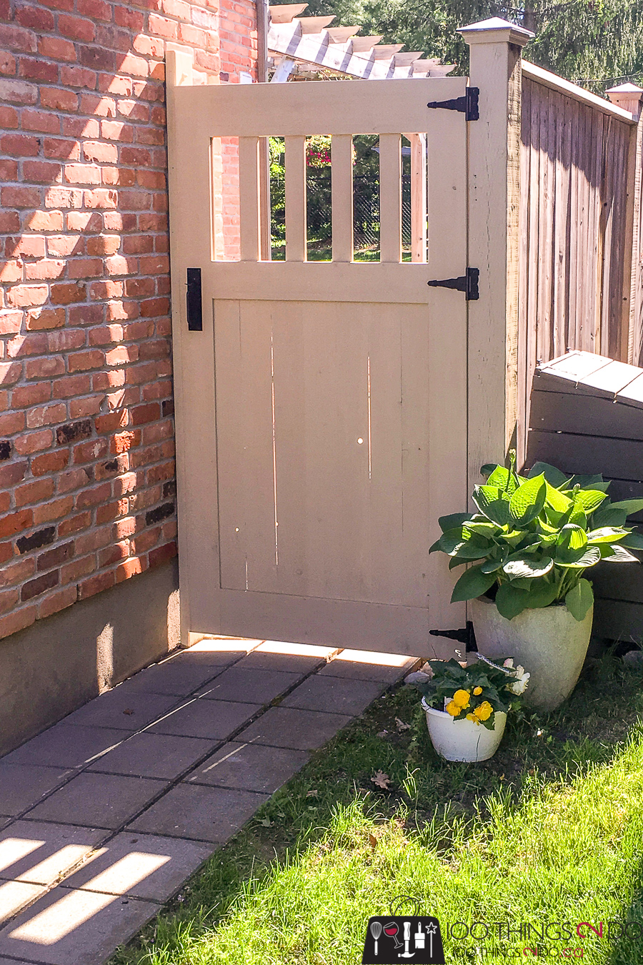 Garden Gate, DIY Garden Gate, DIY gate