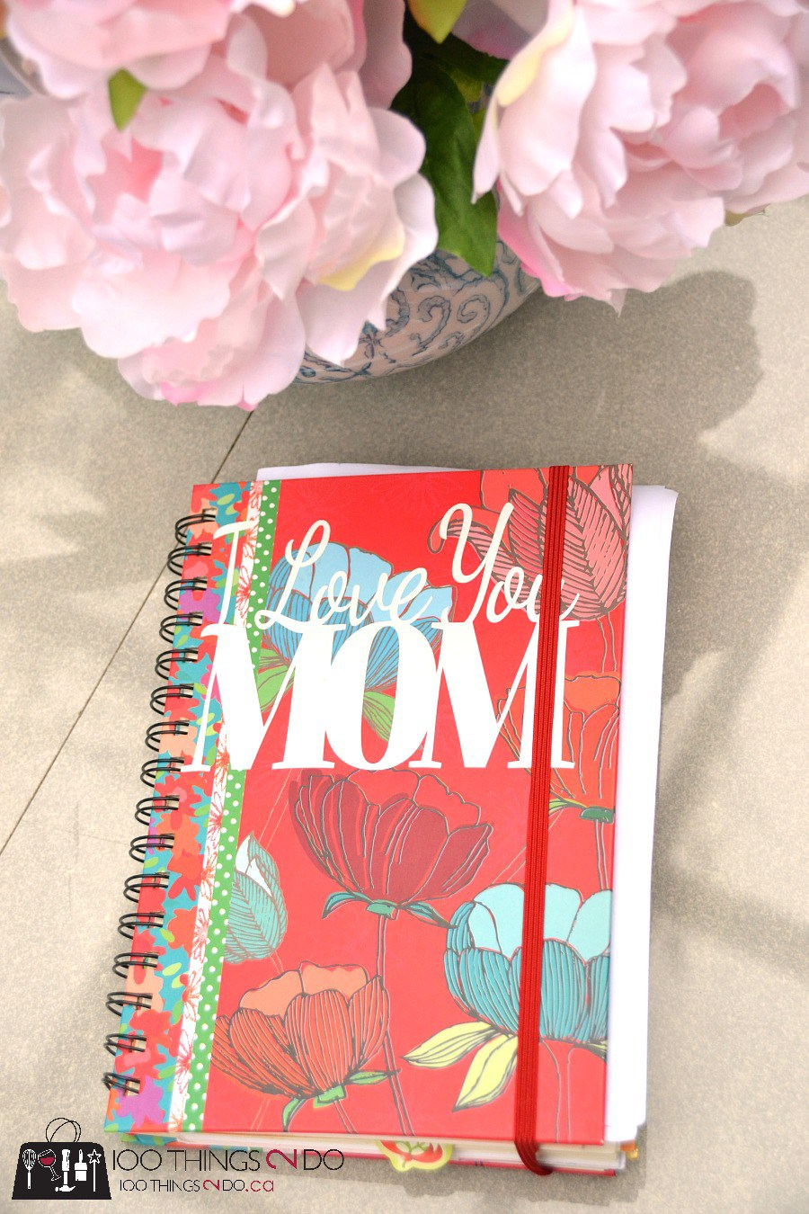 Mother's day gift ideas, Mom book, mom journal, book of letters from your kids