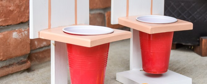 Beer Pong, Championship beer pong, basketball beer pong, summer fun, party games, scrap wood project, backyard games