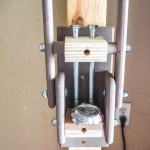 DIY Can Crusher, scrap wood challenge, scrap wood project, recycling, can compress